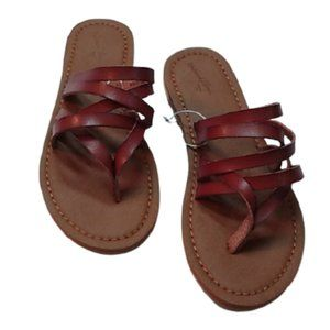Universal Thread Cognac Maritza Sandals 6